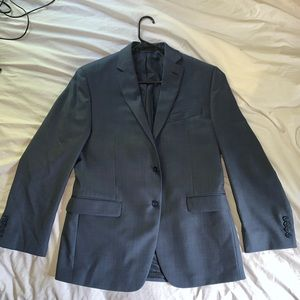 Calvin Klein slim fit sports coat navy blue 38 S